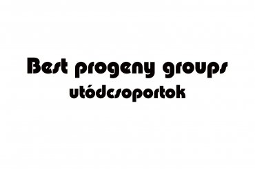 best progeny groups (unedited photos)